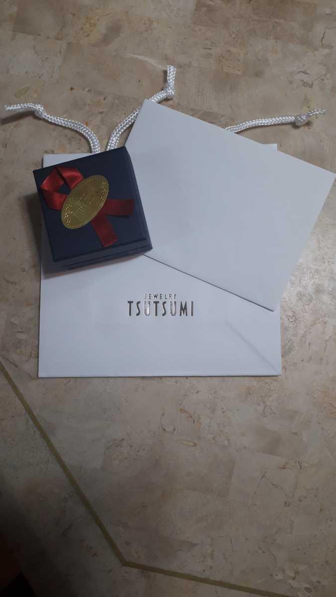 ジュエリーツツミ K10ピンクゴールドピンクサファイアネックレス 華奢アクセサリー 箱 紙袋つき プレゼントにも_画像8