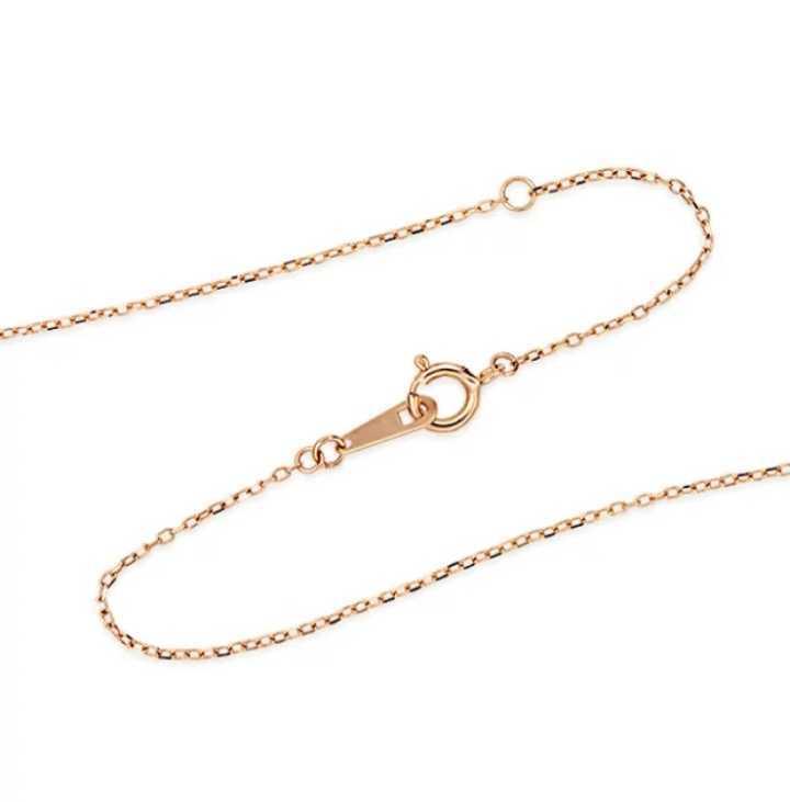 ジュエリーツツミ K10ピンクゴールドピンクサファイアネックレス 華奢アクセサリー 箱 紙袋つき プレゼントにも_画像4