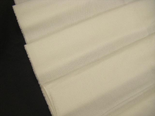 ☆即決☆ Z19 生地・ハニカムストレッチ・綿・ポリウレタン・白・ホワイト・110cm巾・2.7m価格_画像1