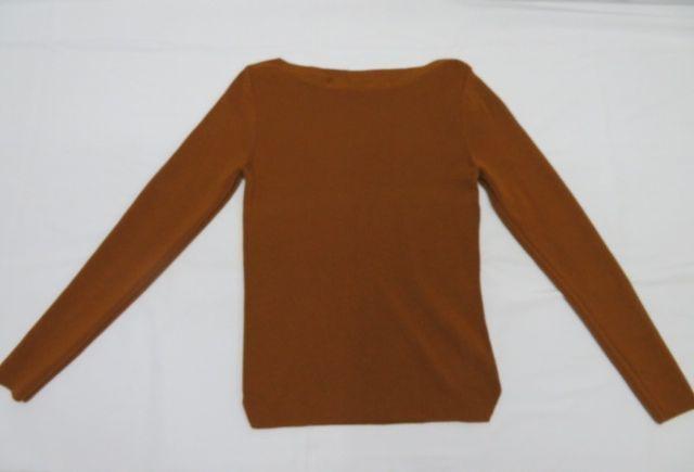 ROPE ロペ レディース ニット セーター×ロングスカート 38 ブラウン 毛100%_画像5