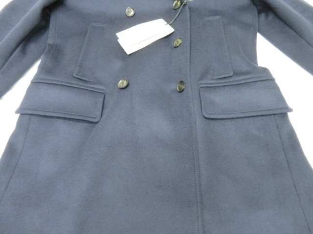 タグ付 新品 GUCCI グッチ ウールコート 44 トレンチコート Pコート 襟付き レディース XXL相当_画像3