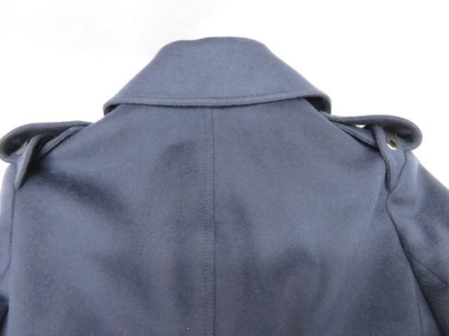 タグ付 新品 GUCCI グッチ ウールコート 44 トレンチコート Pコート 襟付き レディース XXL相当_画像5