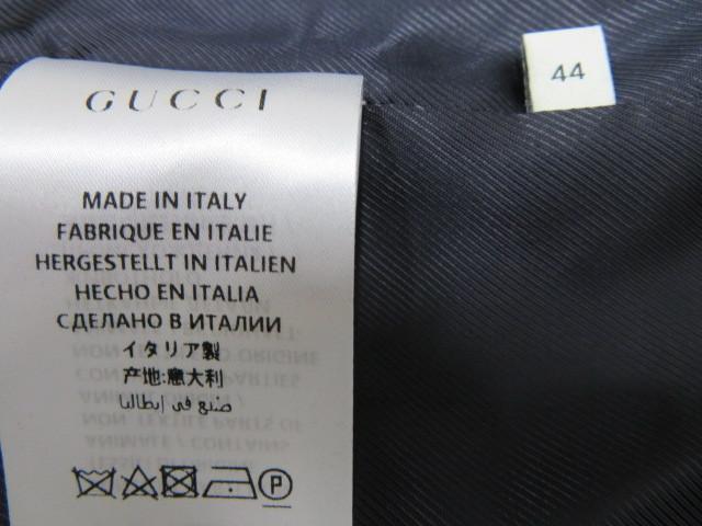 タグ付 新品 GUCCI グッチ ウールコート 44 トレンチコート Pコート 襟付き レディース XXL相当_画像10