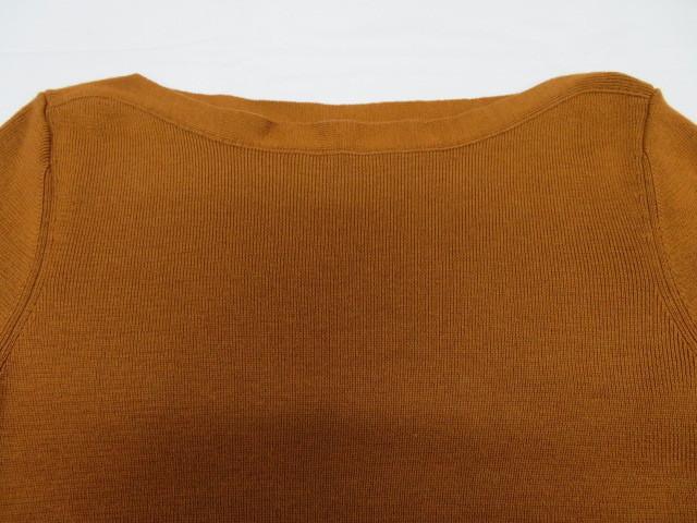ROPE ロペ レディース ニット セーター×ロングスカート 38 ブラウン 毛100%_画像6
