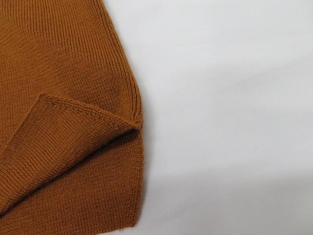 ROPE ロペ レディース ニット セーター×ロングスカート 38 ブラウン 毛100%_画像9