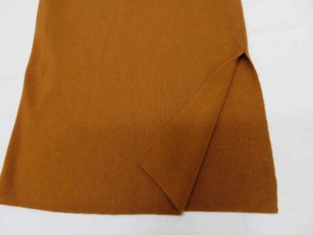 ROPE ロペ レディース ニット セーター×ロングスカート 38 ブラウン 毛100%_画像4