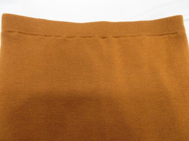 ROPE ロペ レディース ニット セーター×ロングスカート 38 ブラウン 毛100%_画像2