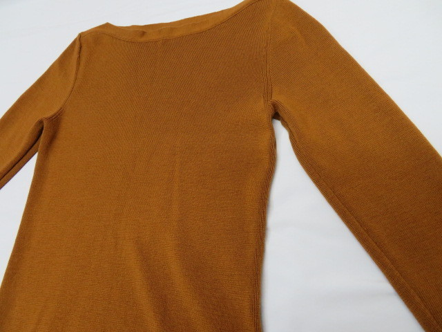 ROPE ロペ レディース ニット セーター×ロングスカート 38 ブラウン 毛100%_画像7