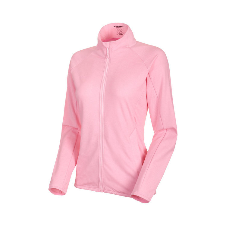マムート フリース ジャケット ミッドレイヤー ピンク Nair ML Jacket AF Women dark blush melange M/L 新品