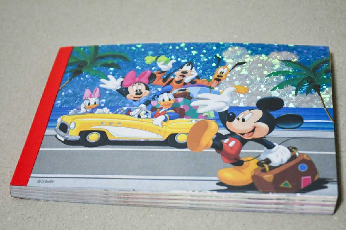完売【新品未使用】ディズニーストア メモ帳 ステッカー付 ミッキーミニー ドナルド ディズニー デイジー グーフィー プルート ドライブ