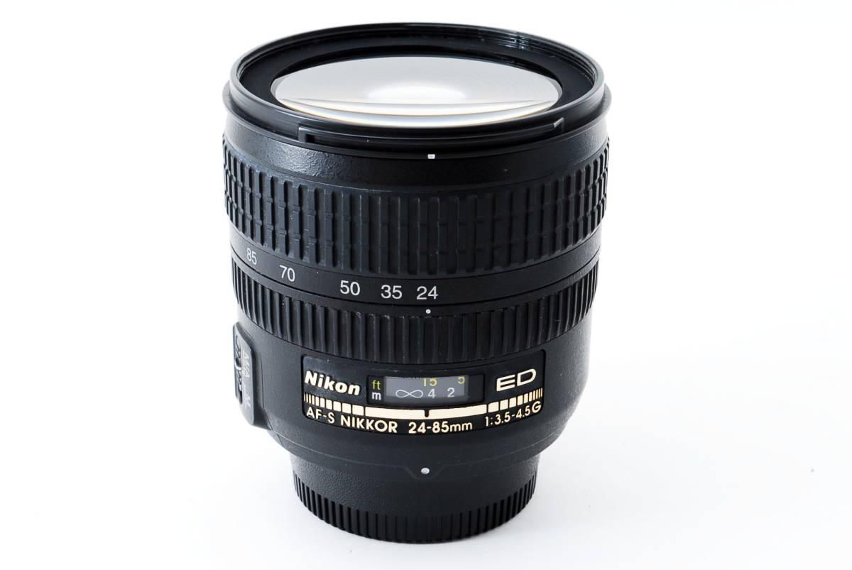 美品 Nikon ニコン ED AF-S NIKKOR 24-85mm F3.5-4.5G IF #923_画像9