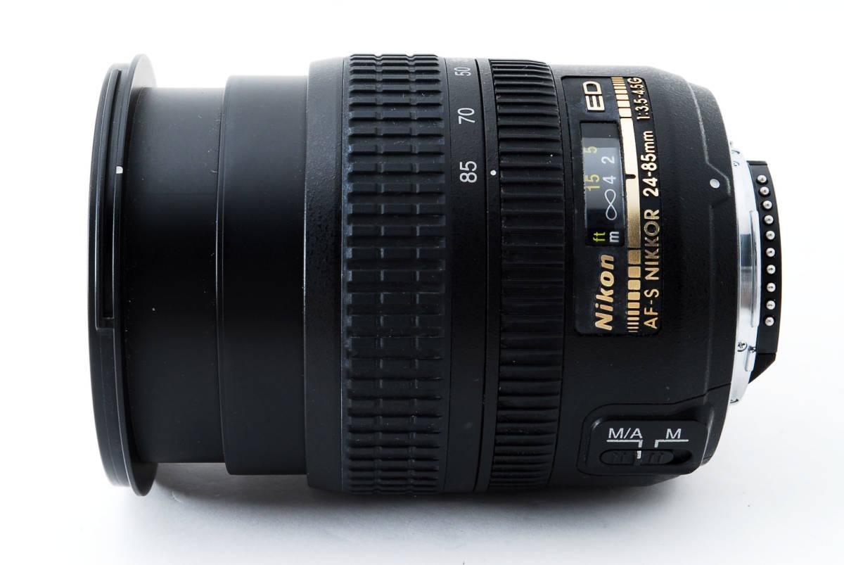 美品 Nikon ニコン ED AF-S NIKKOR 24-85mm F3.5-4.5G IF #923_画像6
