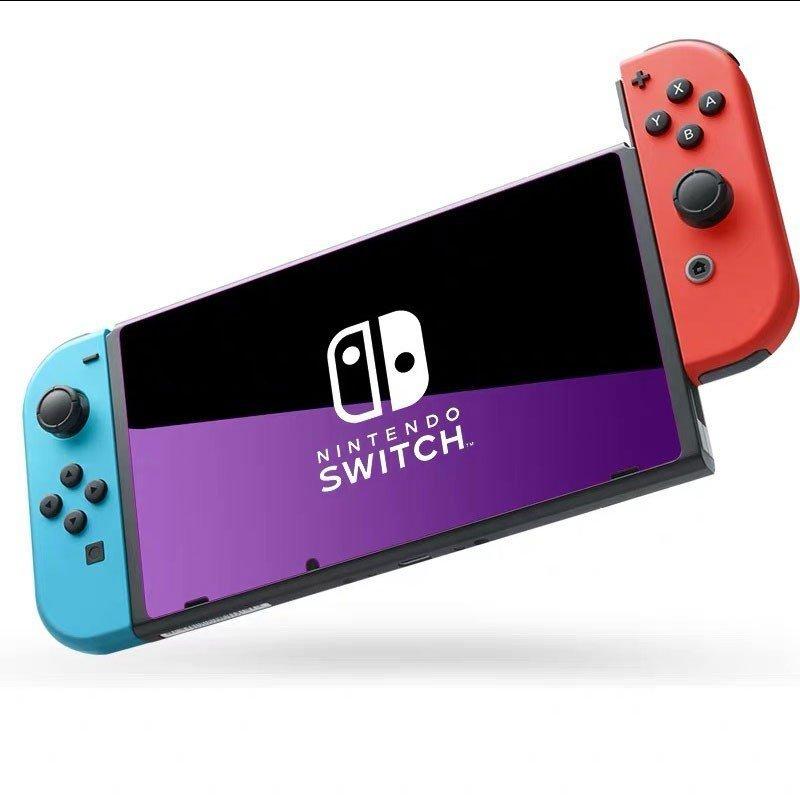 【送料無料】 Nintendo Switch スイッチ ブルーライト強化ガラスフィルム 液晶 画面 保護 表面硬度9H 強化フィルム 保護フィルムGlass