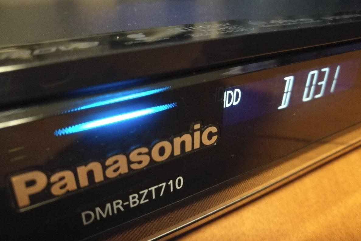 ◆◆ [ 500GB → 4TB 新品WD40PURZ 換装済 ]Panasonic DIGA DMR-BZT710 取説コピー2冊・各種ケーブル・動作品 [送料無料]