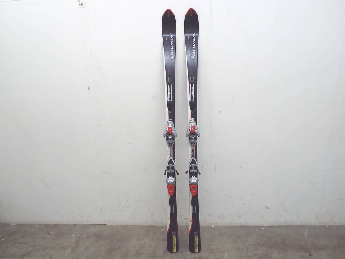 SALOMON/サロモン カービング スキー 板 SUPERAXE 3V 176cm ビンディング サロモン equipe/エキップ 900S 引取歓迎 札幌 _画像2