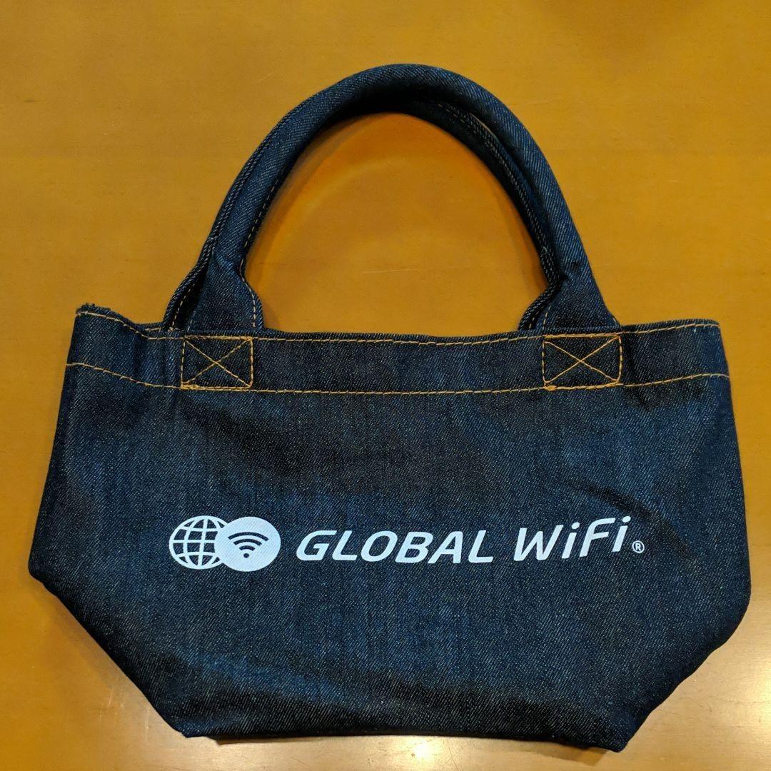 デニム エコバッグ グローバルWi-Fi ワGLOBAL WiFi トートバック