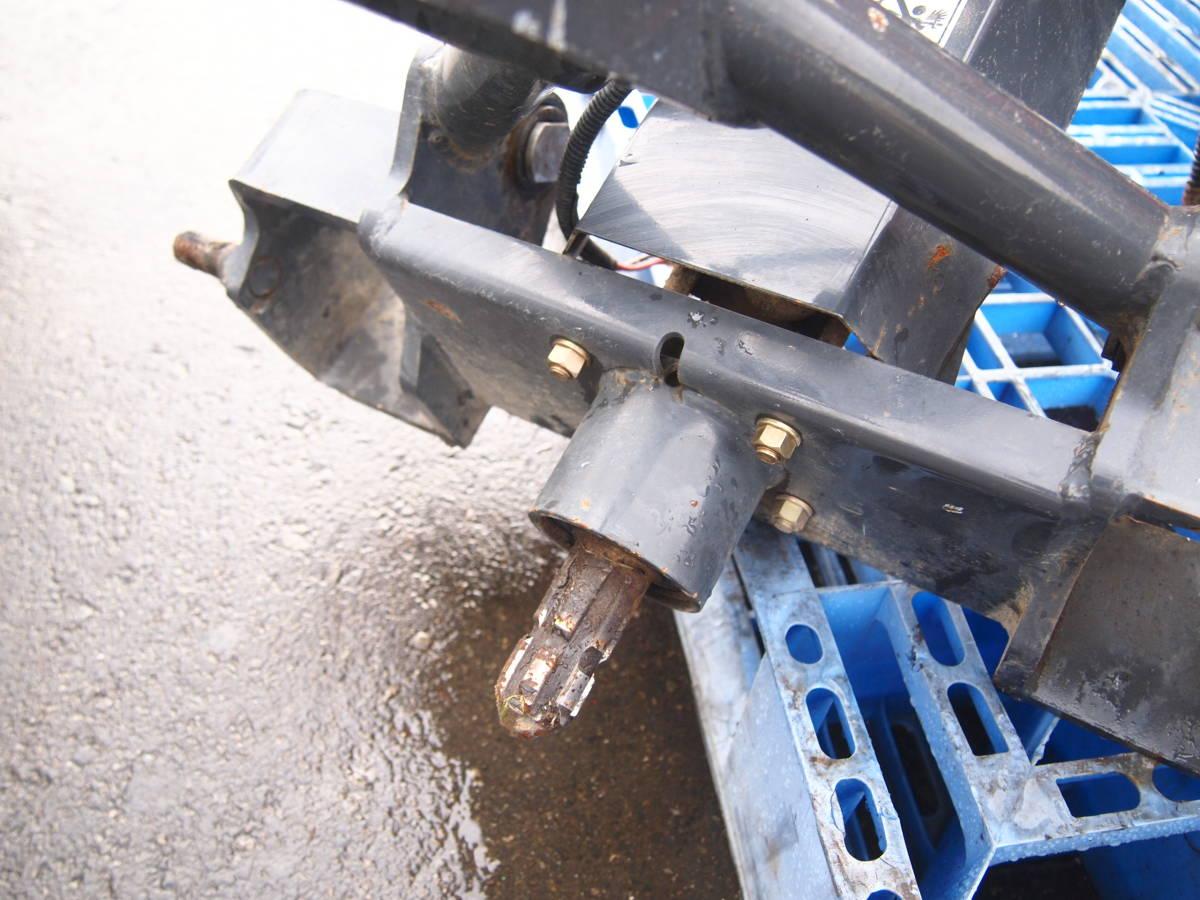 ◆小橋工業 コバシ RKM750H DYNER REVERSE アゼローラー 畦塗 あぜぬり機_画像9