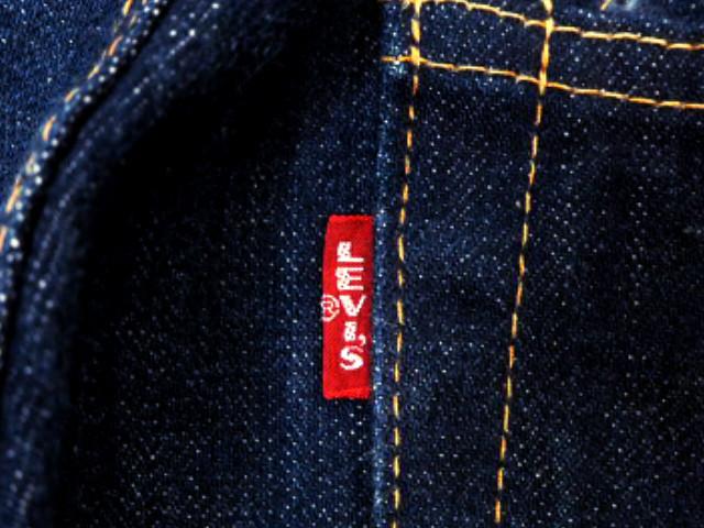 即決★日本製 Levi's★デニムパンツ 505-0217 W33 赤耳 ヴィンテージ復刻 リーバイス メンズ ジーンズ ビッグE ジーパン Gパン AR174 3g._画像5
