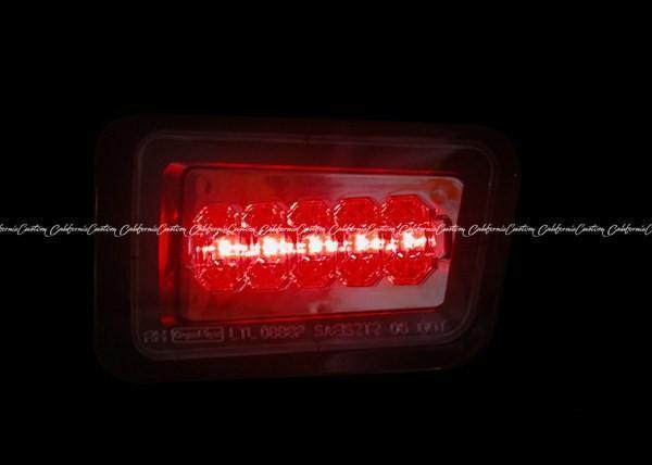【スモーク】ハマーH2 LED リア バンパー フォグ ライト バック ランプ テール ポジション 並行車 後期型 新車並行 修理 鈑金 車検 左右SET_画像3