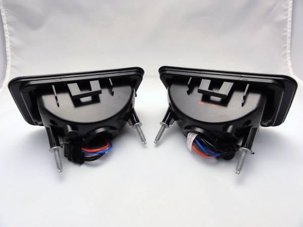【スモーク】ハマーH2 LED リア バンパー フォグ ライト バック ランプ テール ポジション 並行車 後期型 新車並行 修理 鈑金 車検 左右SET_画像5