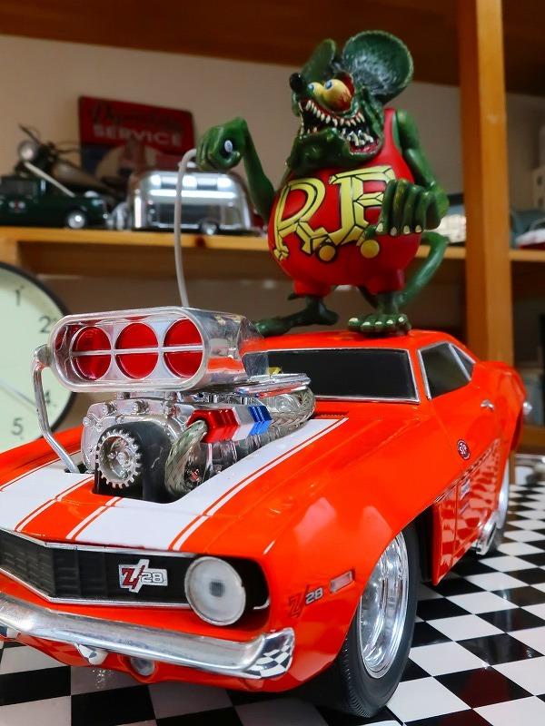 1点のみ★ラットフィンク Rat fink on カマロ Z28 ストリートマシン アメリカンマッスルマシン ホットロッド