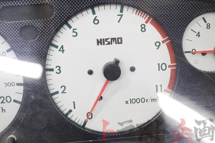 80092236-1 ニスモ 320km ホワイトメーター スカイライン GT-R BNR32 トラスト企画_画像4