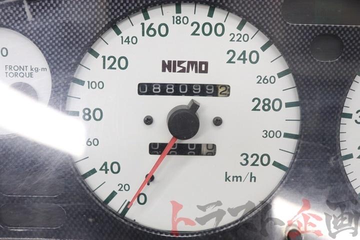 80092236-1 ニスモ 320km ホワイトメーター スカイライン GT-R BNR32 トラスト企画_画像3