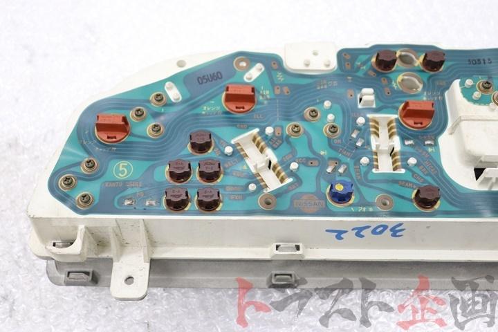 80092236-1 ニスモ 320km ホワイトメーター スカイライン GT-R BNR32 トラスト企画_画像9
