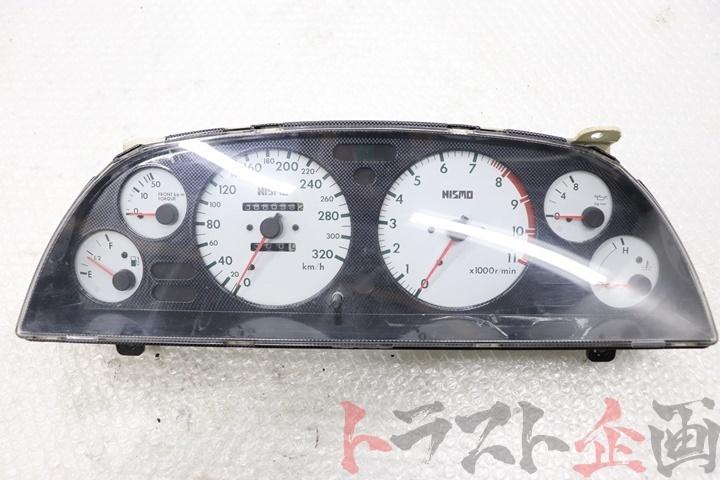 80092236-1 ニスモ 320km ホワイトメーター スカイライン GT-R BNR32 トラスト企画_画像1
