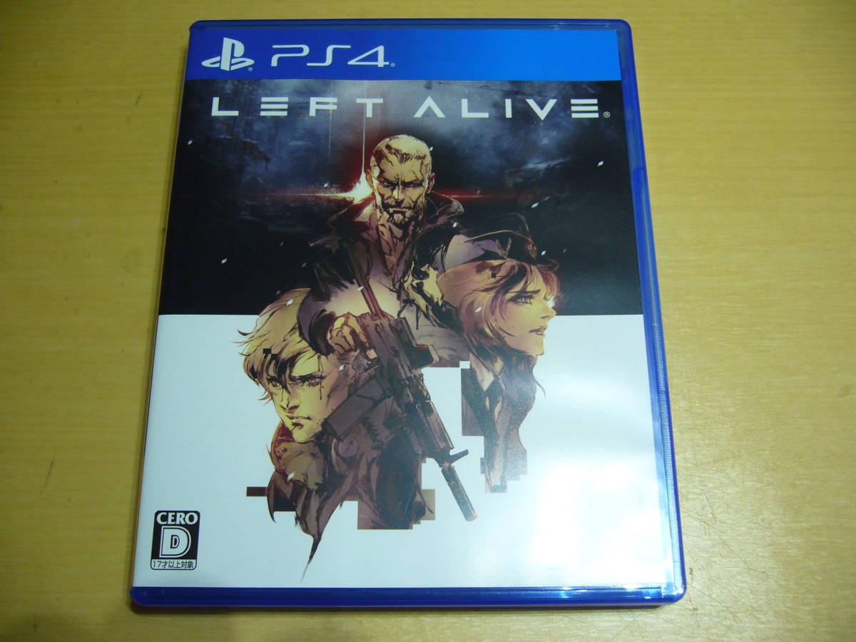 ■ プレイステーション4 PS4 ソフト LEFT ALIVE レフトアライブ (中古)