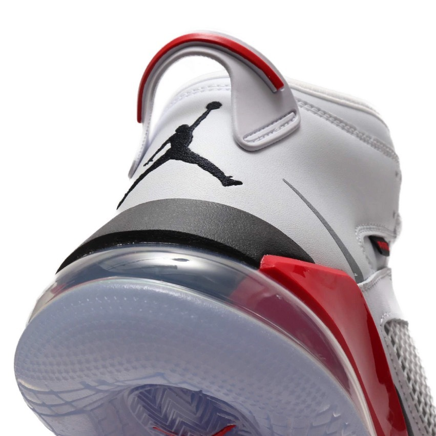 JP27cm 即完売 USA購入 NIKE JORDAN MARS 270 WHITE/BLACK-FIRE RED-CEMENT GRAY ナイキ ジョーダン マーズ 270 US9_画像2