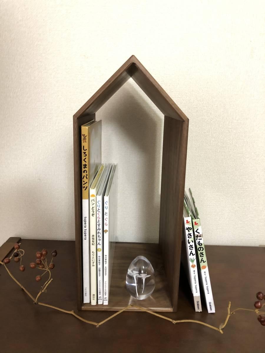 天然木の本棚 ブックハウス 本の家_画像3