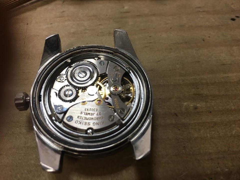 ★1000スタ★ King Seiko 44KS Chronometer キングセイコー クロノメーター 4420-9990 手巻き 27 jewels_画像6