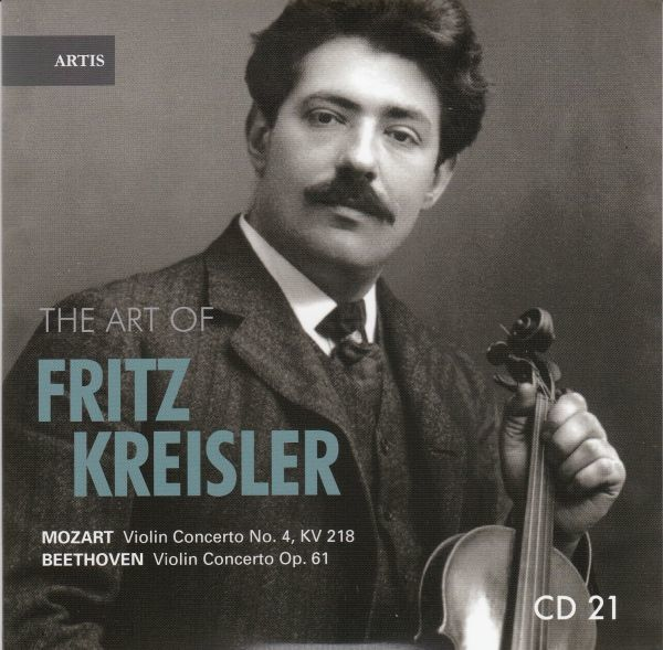 [CD/Artis]ベートーヴェン:ヴァイオリン協奏曲ニ長調Op.61他/F.クライスラー(vn)&J.バルビローリ&ロンドン・フィルハーモニー管弦楽団 1936_画像1