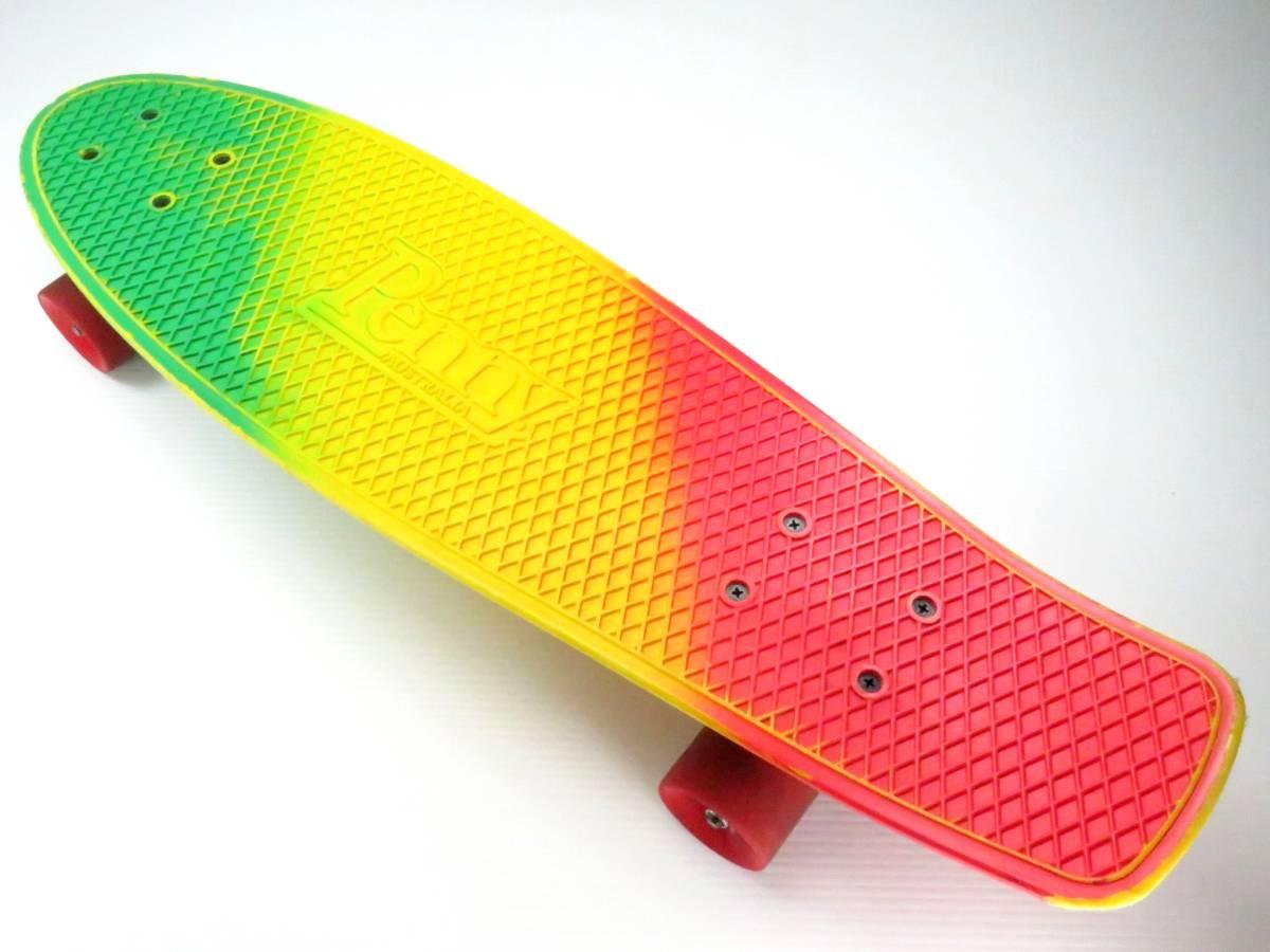 ペニー 27インチ ニッケル ミニクルーザー スケートボード コンプリート スケボー Penny nickel 27inch skateboard COMPLETE すぐ乗れます_画像3