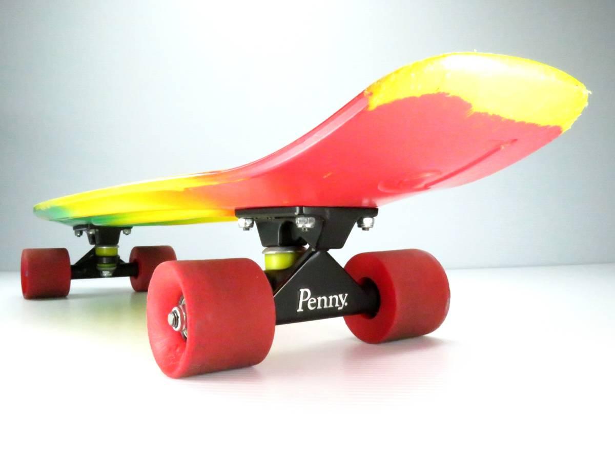 ペニー 27インチ ニッケル ミニクルーザー スケートボード コンプリート スケボー Penny nickel 27inch skateboard COMPLETE すぐ乗れます_画像5