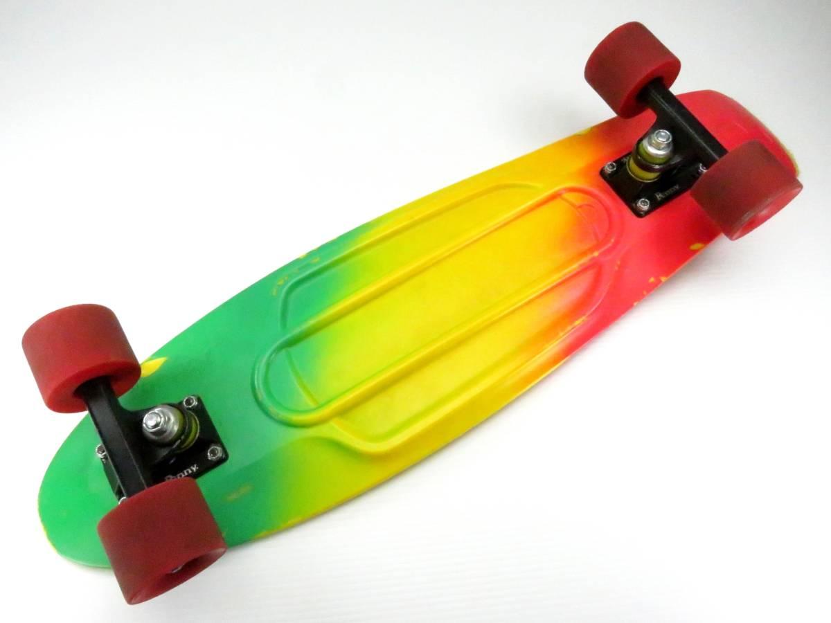 ペニー 27インチ ニッケル ミニクルーザー スケートボード コンプリート スケボー Penny nickel 27inch skateboard COMPLETE すぐ乗れます_画像6