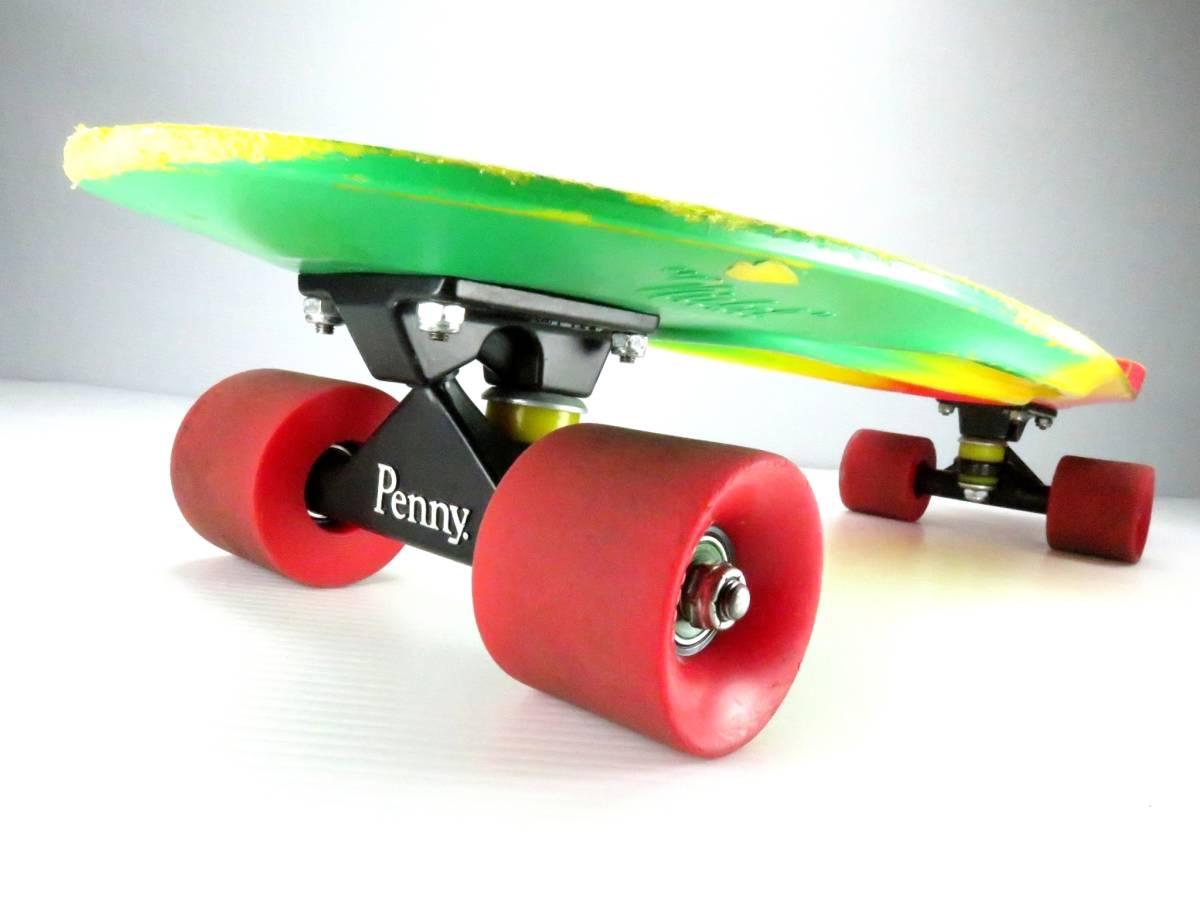 ペニー 27インチ ニッケル ミニクルーザー スケートボード コンプリート スケボー Penny nickel 27inch skateboard COMPLETE すぐ乗れます_画像4