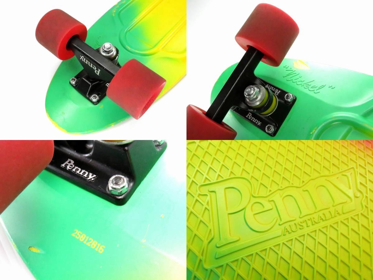 ペニー 27インチ ニッケル ミニクルーザー スケートボード コンプリート スケボー Penny nickel 27inch skateboard COMPLETE すぐ乗れます_画像8