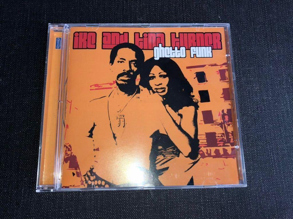 CD 中古良品 Ike & Tina Turner - Ghetto Funk / オランダ盤 / HallMark Music & Entertainment / DrumBreaks