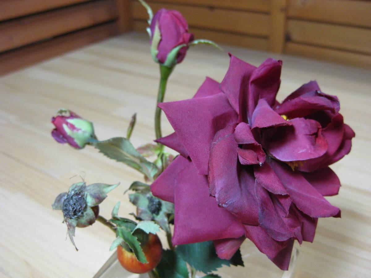 Y送料無料△509【EMILIO ROBBA エミリオロバ】バラ アートフラワー 造花_画像3