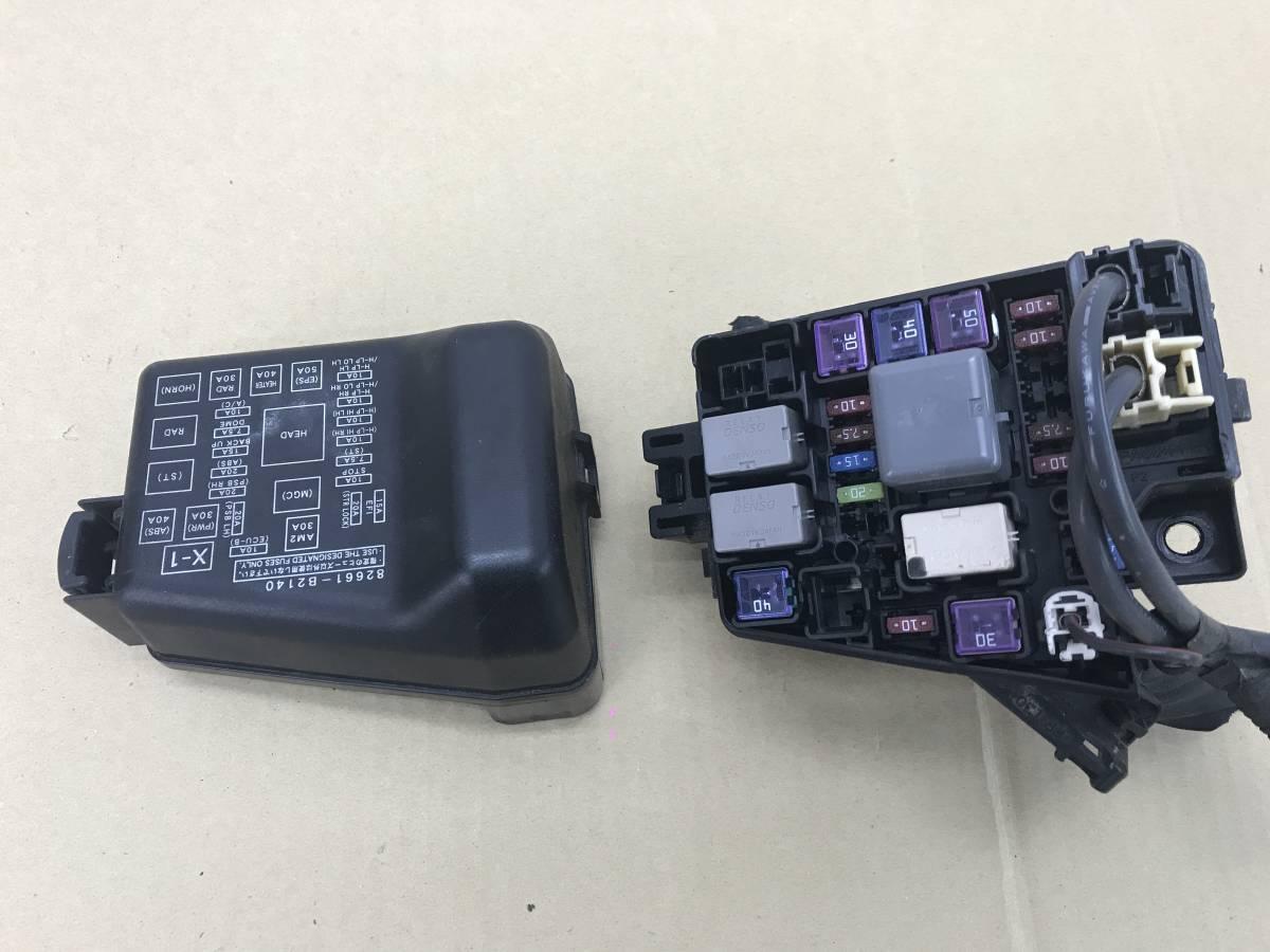 _b20101 ダイハツ タント Xリミテッド DBA-L375S ヒューズボックス エンジンルーム側 L385S_画像3
