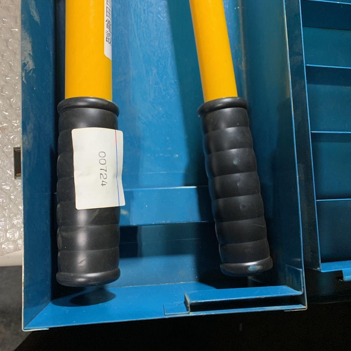 即決 中古品 IZUMI 泉精器 手動油圧式圧着工具 EP-365 動作確認済み T型ダイス4個付属_画像5