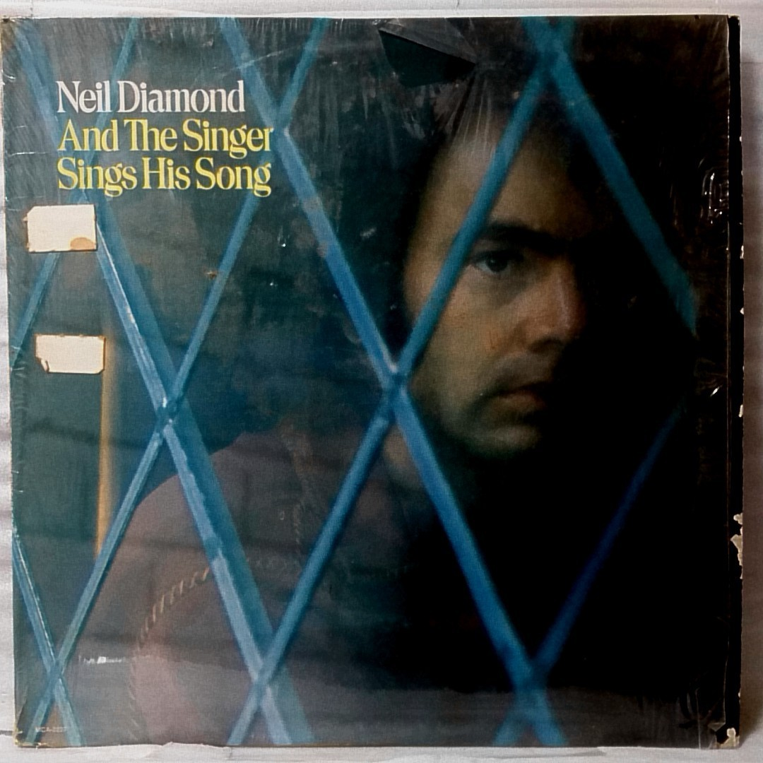 NEIL DIAMOND AND THE SINGER SINGS HIS SONG★ US盤 シュリンク付★アナログ盤 [4070RP_画像1