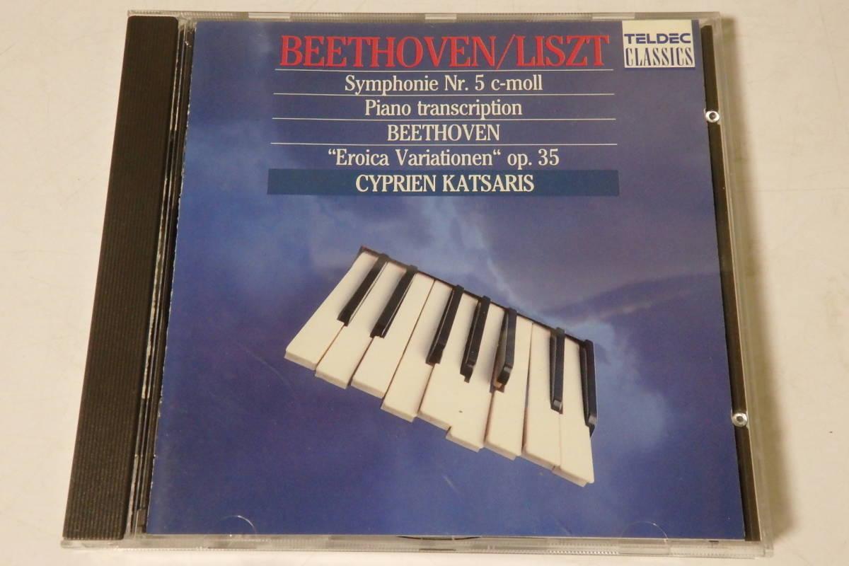 506 クラシック CD ベートーヴェン リスト編曲 交響曲 第5番「運命」 ピアノ ヴァイオリン 交響曲 管弦楽 協奏曲_画像1
