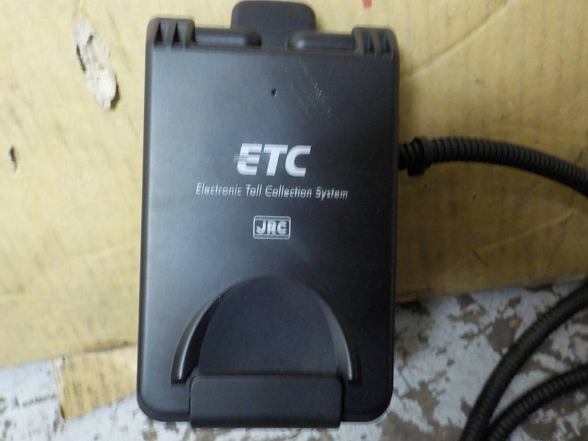 二輪車用ETC車載器 アンテナ一体型 JRM-12 単品 動作OK_画像2