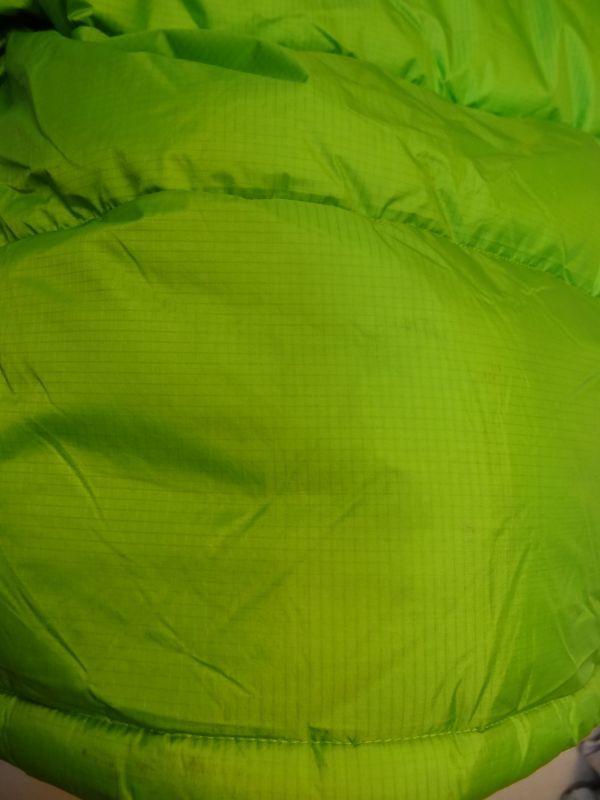 THE NORTH FACE ノースフェイス サミットシリーズ バルトロ ダウンジャケット 700フィル メンズ Mサイズ 正規品 ライムグリーン f129_画像9