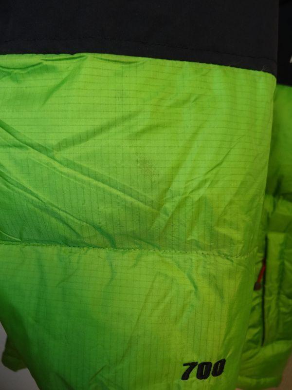 THE NORTH FACE ノースフェイス サミットシリーズ バルトロ ダウンジャケット 700フィル メンズ Mサイズ 正規品 ライムグリーン f129_画像8