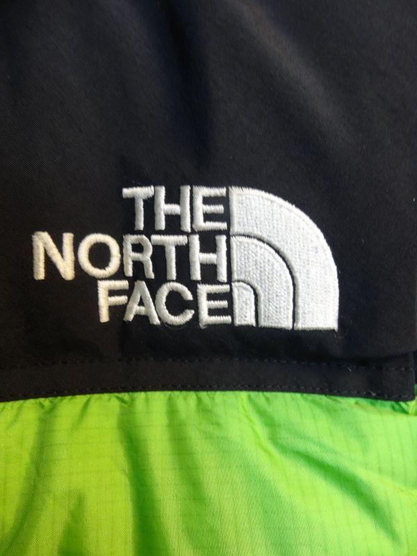THE NORTH FACE ノースフェイス サミットシリーズ バルトロ ダウンジャケット 700フィル メンズ Mサイズ 正規品 ライムグリーン f129_画像4