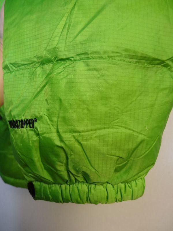 THE NORTH FACE ノースフェイス サミットシリーズ バルトロ ダウンジャケット 700フィル メンズ Mサイズ 正規品 ライムグリーン f129_画像7